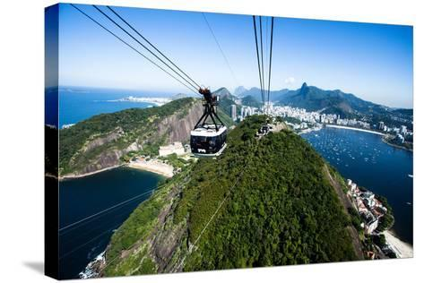 The Cable Car To Sugar Loaf In Rio De Janeiro-Mariusz Prusaczyk-Stretched Canvas Print