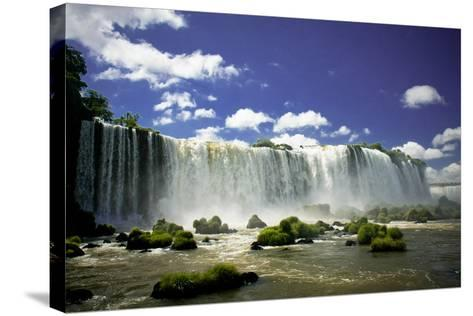 Iguazu Falls-Neale Cousland-Stretched Canvas Print