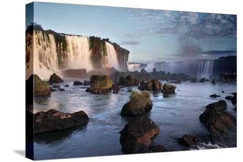 Iguazu Falls-zothen-Stretched Canvas Print