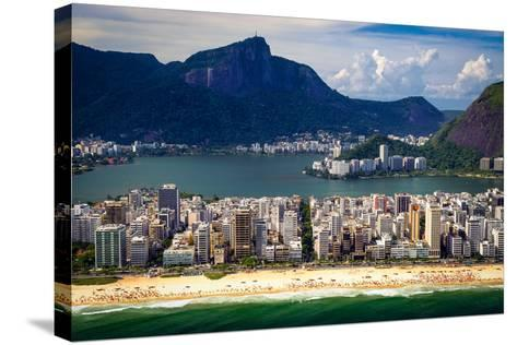 Ipanema Beach-CelsoDiniz-Stretched Canvas Print