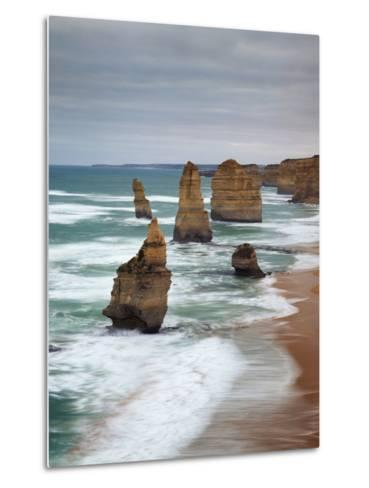 The Twelve Apostles, Port Campbell, Victoria, Australia-Walter Bibikow-Metal Print