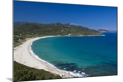 Plage Lozari Beach, La Balange, Corsica, France-Walter Bibikow-Mounted Photographic Print