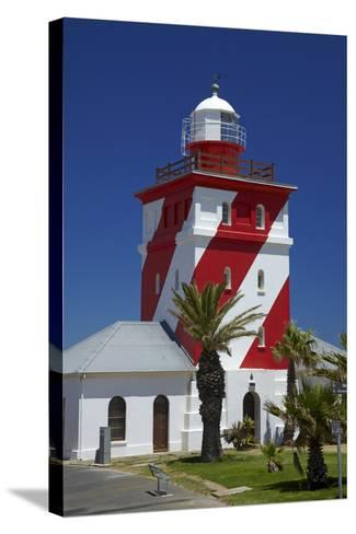 Mouille Point Lighthouse (1824), Cape Town, South Africa-David Wall-Stretched Canvas Print