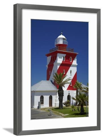 Mouille Point Lighthouse (1824), Cape Town, South Africa-David Wall-Framed Art Print