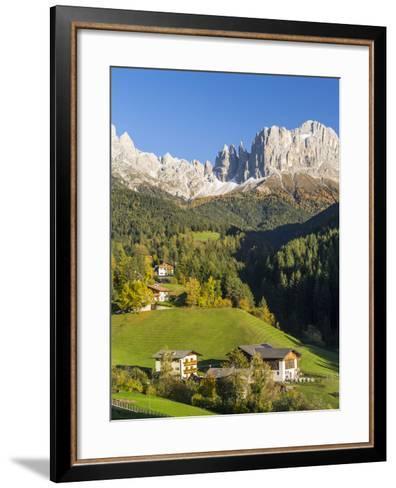 Alpen Landscape, South Tyrol, Austria-Martin Zwick-Framed Art Print