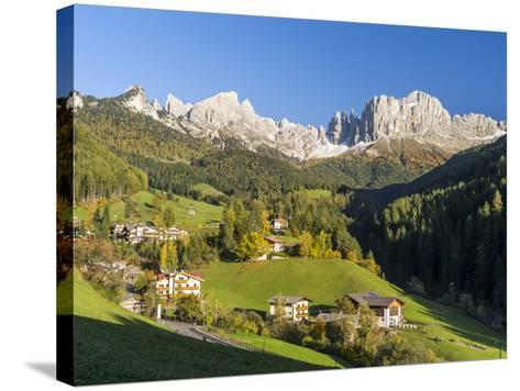 Alpen Landscape, South Tyrol, Austria-Martin Zwick-Stretched Canvas Print