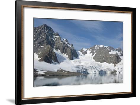 Hornbreen Glacier, Spitsbergen, Svalbard, Norway-Steve Kazlowski-Framed Art Print