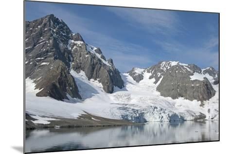 Hornbreen Glacier, Spitsbergen, Svalbard, Norway-Steve Kazlowski-Mounted Photographic Print