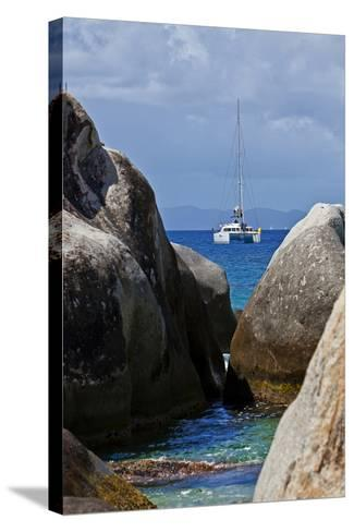 The Baths on Virgin Gorda, British Virgin Islands-Joe Restuccia III-Stretched Canvas Print