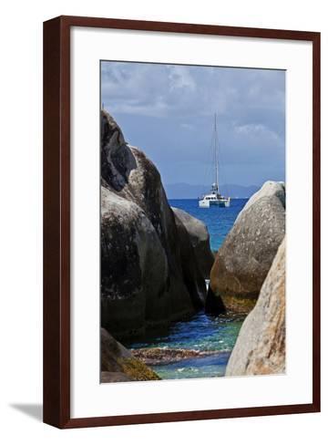 The Baths on Virgin Gorda, British Virgin Islands-Joe Restuccia III-Framed Art Print