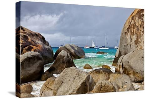 The Baths on Virgin Gorda, British Virgin Islands-Joe Restuccia III-Stretched Canvas Print