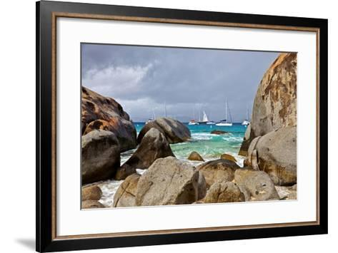 The Baths on Virgin Gorda, British Virgin Islands-Joe Restuccia III-Framed Art Print