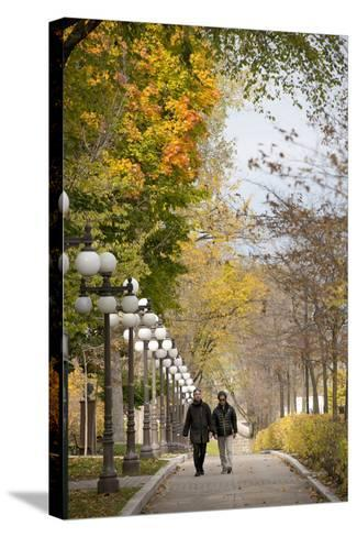 Autumn, Quebec City, Quebec, Canada-Cindy Miller Hopkins-Stretched Canvas Print