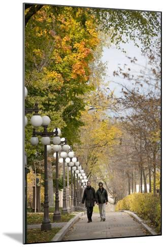 Autumn, Quebec City, Quebec, Canada-Cindy Miller Hopkins-Mounted Photographic Print