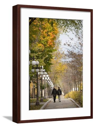 Autumn, Quebec City, Quebec, Canada-Cindy Miller Hopkins-Framed Art Print