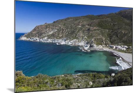 Elevated View, Marine De Giottani, Le Cap Corse, Corsica, France-Walter Bibikow-Mounted Photographic Print