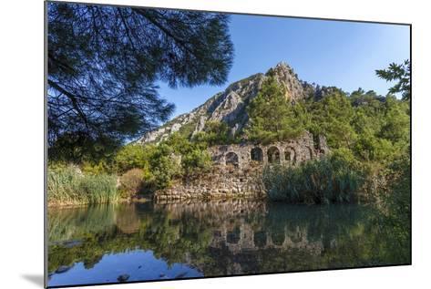 Ruins in Olympos, Antalya, Turkey-Ali Kabas-Mounted Photographic Print
