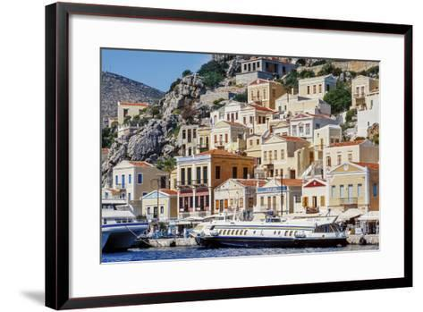 Symi Island, Greece-Ali Kabas-Framed Art Print