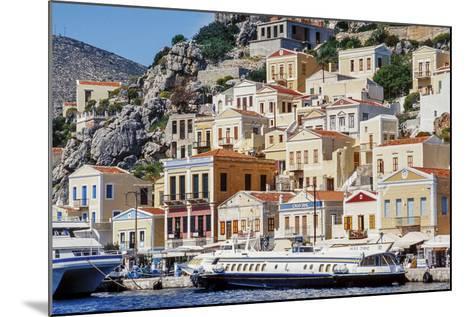 Symi Island, Greece-Ali Kabas-Mounted Photographic Print