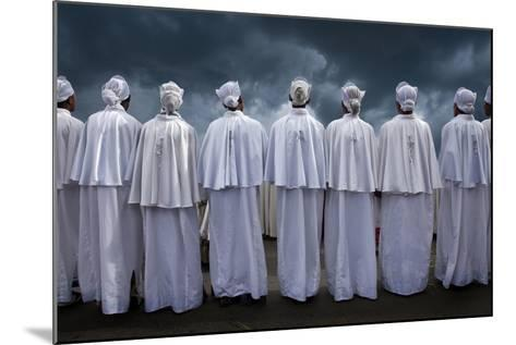 Christians at Timkat Festival, Adis Ababa, Ethiopia-Jaynes Gallery-Mounted Photographic Print