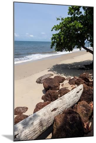 View of the Ocean on the Gulf of Guinea, Libreville, Gabon-Alida Latham-Mounted Photographic Print