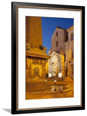 Place De La Republique, Arles, Provence, France-Brian Jannsen-Framed Art Print