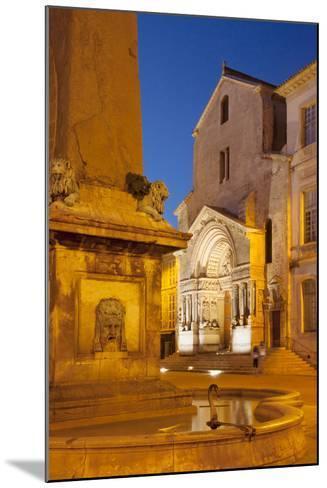 Place De La Republique, Arles, Provence, France-Brian Jannsen-Mounted Photographic Print