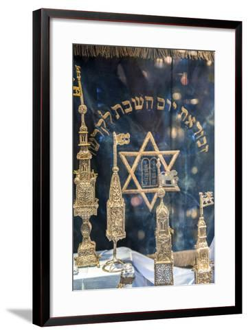 Silver Spice Containers, Dohany Synagogue, Budapest, Hungary-Jim Engelbrecht-Framed Art Print