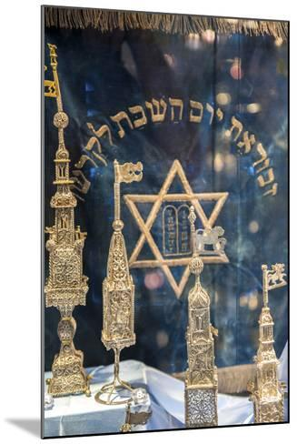 Silver Spice Containers, Dohany Synagogue, Budapest, Hungary-Jim Engelbrecht-Mounted Photographic Print