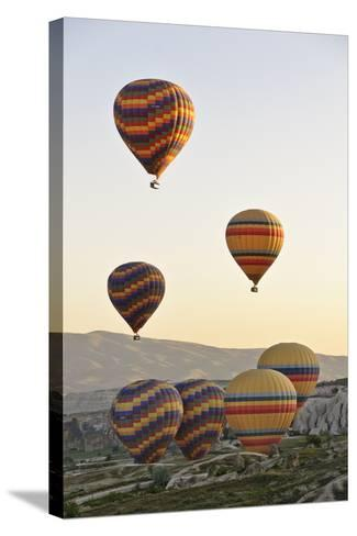 Sunrise Balloon Flight, Cappadocia, Turkey-Matt Freedman-Stretched Canvas Print