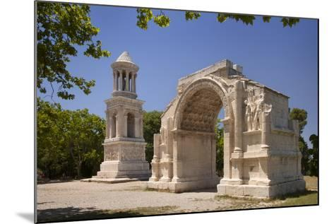 Carved Roman Trophies, Glanum, France.-Brian Jannsen-Mounted Photographic Print