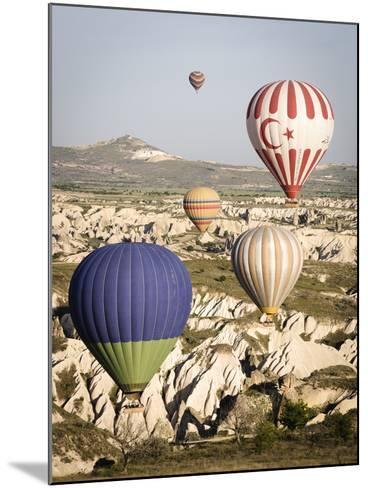 Sunrise Balloon Flight, Cappadocia, Turkey-Matt Freedman-Mounted Photographic Print