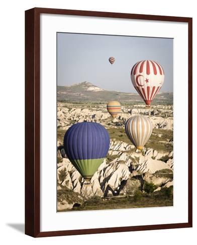 Sunrise Balloon Flight, Cappadocia, Turkey-Matt Freedman-Framed Art Print