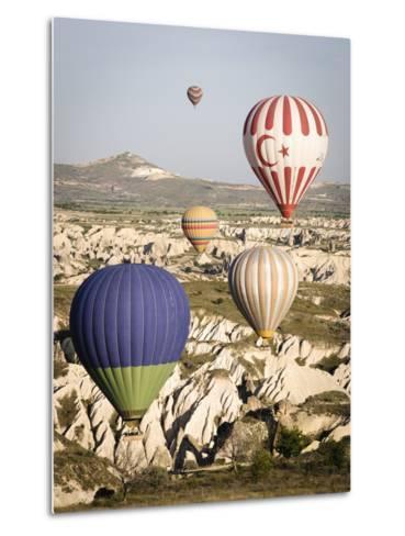 Sunrise Balloon Flight, Cappadocia, Turkey-Matt Freedman-Metal Print