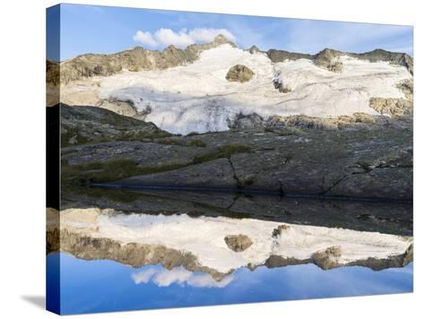 Peak of Mt Grossvenediger, Nationalpark Hohe Tauern, Salzburg, Austria-Martin Zwick-Stretched Canvas Print