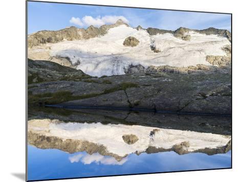 Peak of Mt Grossvenediger, Nationalpark Hohe Tauern, Salzburg, Austria-Martin Zwick-Mounted Photographic Print