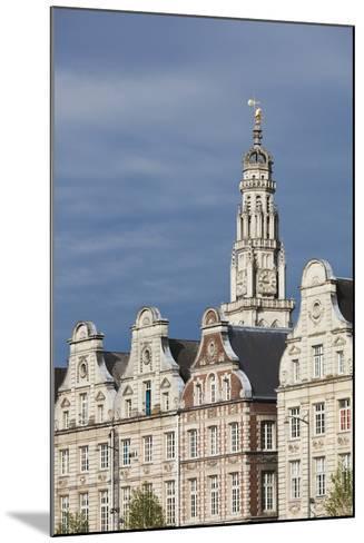 Grand Place Buildings in the Morning, Arras, Pas De Calais, France-Walter Bibikow-Mounted Photographic Print
