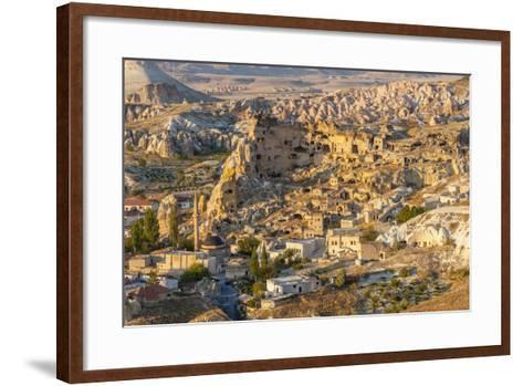 Aerial View of Cappadocia, Central Anatolia, Turkey-Ali Kabas-Framed Art Print