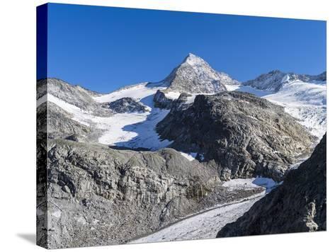 Mt. Grosser Geiger, Nationalpark Hohe Tauern, Salzburg, Austria-Martin Zwick-Stretched Canvas Print