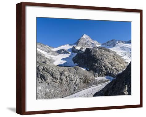 Mt. Grosser Geiger, Nationalpark Hohe Tauern, Salzburg, Austria-Martin Zwick-Framed Art Print