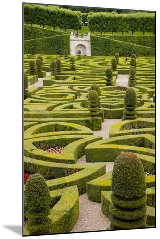 Formal Gardens of Chateau Villandry, Loire Valley, France-Brian Jannsen-Mounted Photographic Print