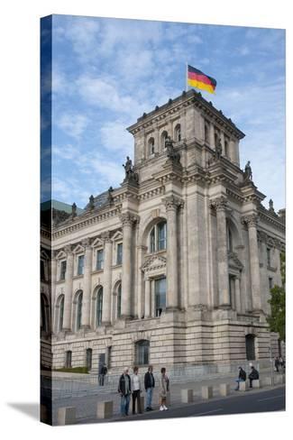 Bundestag, Berlin, Germany-Inger Hogstrom-Stretched Canvas Print