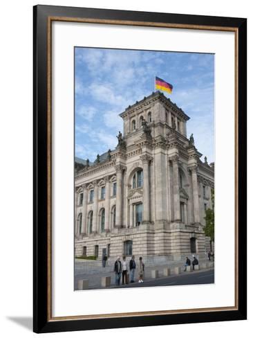 Bundestag, Berlin, Germany-Inger Hogstrom-Framed Art Print