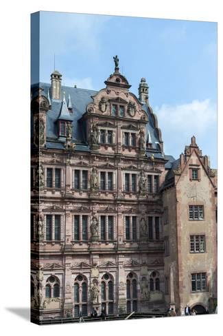 Heidelberg Castle, Baden-Wurttemberg, Germany-Jim Engelbrecht-Stretched Canvas Print