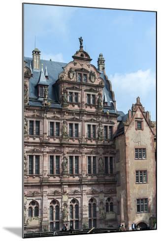 Heidelberg Castle, Baden-Wurttemberg, Germany-Jim Engelbrecht-Mounted Photographic Print