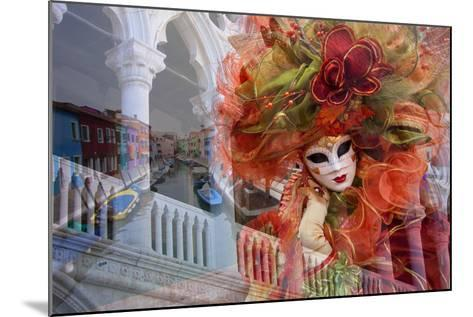 Elaborate Costumes for Carnival Festival, Venice, Italy-Jaynes Gallery-Mounted Photographic Print