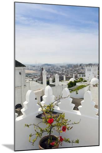 View of Tangier from the Medina, Tangier, Morocco-Nico Tondini-Mounted Photographic Print