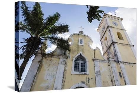 Church of Our Lady of Conception, Inhambane, Mozambique-Alida Latham-Stretched Canvas Print