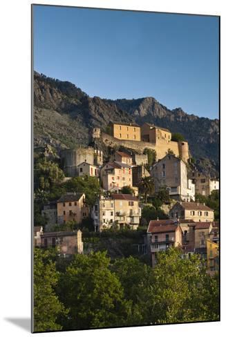 City and Citadel, Corte, Corsica, France-Walter Bibikow-Mounted Photographic Print