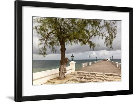 View of the Sea of Zanj from Dock, Mozambique Island, Mozambique-Alida Latham-Framed Art Print